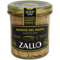 Bonito en aceite de oliva ZALLO, tarro 350 g