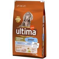 Alimento para perro mediano-maxi junior ULTIMA, saco 7,5 Kg