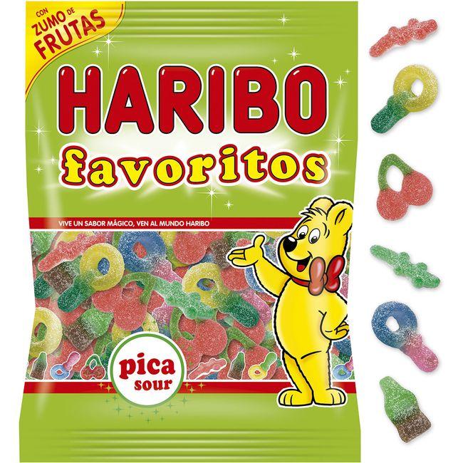 Favoritos pica HARIBO, bolsa 150 g