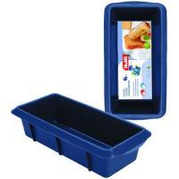 Molde cake silicona rectangular Blueberry 30x10,5xH6,5cm IBILI, 30cm