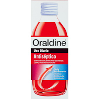 Colutorio antiséptico ORALDINE, botella 400 ml