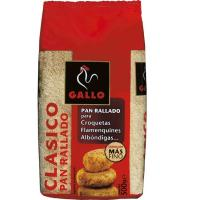 Pan rallado GALLO, paquete 500 g