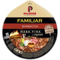 Pizza maxi sabor barbacoa PALACIOS, 1 unid., 580 g