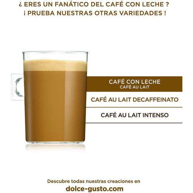 Café con leche NESCAFÉ Dolce Gusto, caja 16 monodosis