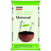 Sustrato universal EROSKI basic, saco 20 litros