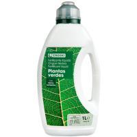 Fertilizante liquido plantas verdes EROSKI,1l