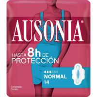 Compresa normal con alas AUSONIA, paquete 14 unid.