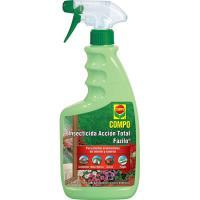 Insecticcida acción total para plantas ornamentales COMPO, pulverizador 750 ml
