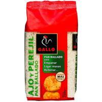 Pan rallado con ajo-perejil GALLO, paquete 250 g