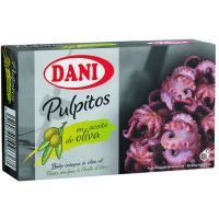 Pulpito en aceite de oliva DANI, lata 111 g