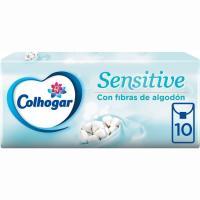 Pañuelo sensitive COLHOGAR, paquete 10 uds.