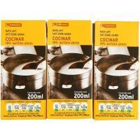 Nata para cocinar EROSKI, pack 3x200 ml