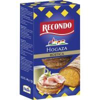 Hogaza de pan tostado rústico RECONDO, caja 240 g