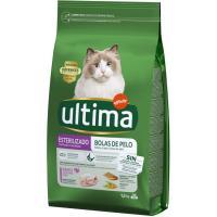Control bolas gato esterilizado ULTIMA, saco 1,5 kg