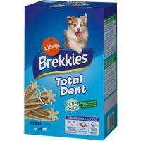 Snack Total Dent para perro mediano BREKKIES, pack 4x180 g