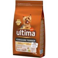 Alimento para perro mini Yorkshire Terrier ULTIMA, saco 1,5 kg
