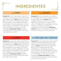Mousses para gato GOURMET Gold, pack 12x85 g
