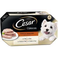 Carne CÉSAR, pack 4x150 g