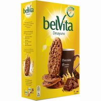 Galleta Belvita con cacao FONTANEDA, caja 400 g
