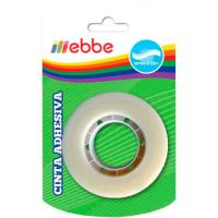 Cinta adhesiva, celo 33x18mm EBBE