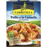 Pollo a la cazuela CARRETILLA, bandeja 250 g