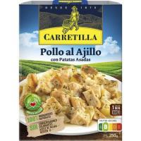 Pollo al ajillo CARRETILLA, bandeja 250 g