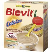 Papilla con cola cao BLEVIT Plus, caja 600 g