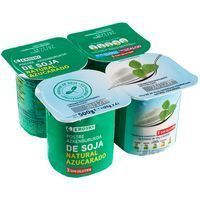 Yogur soja natural