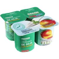 Yogur soja mango