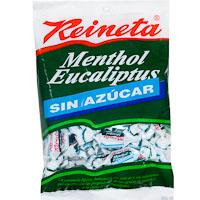 Caramelo de menta sin azúcar REINETA, bolsa 110 g