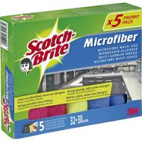 Bayeta de microfibra SCOTCH-BRITE, pack 5 unid.