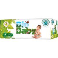 Pañal ecológico 9-13 kg Talla 4 BIO BABY, paquete 34 unid.