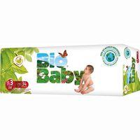 Pañal ecológico 7-10 kg Talla 3 BIO BABY, paquete 34 unid.