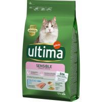 Alimento de trucha para gato sensible ULTIMA, saco 1,5 kg