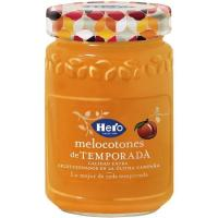Mermelada de melocotón de temporada HERO, frasco 350 g