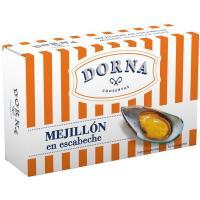Mejillón en escabeche DORNA, lata 111 g