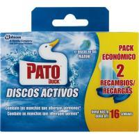 Wc discos activos marine PATO, recambio 12 unid.