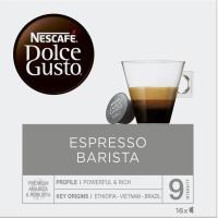 Café Espresso Barista NESCAFÉ Dolce Gusto, caja 16 monodosis