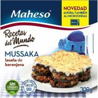 Mussaka MAHESO, caja 300 g