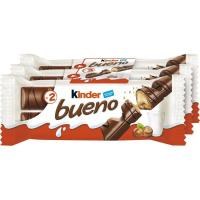 Barrita de chocolate KINDER Bueno, pack 3x43 g