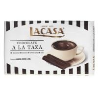Chocolate a la taza 42% LACASA, tableta 300 g