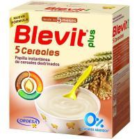 Papilla 5 cereales BLEVIT Plus, caja 600 g