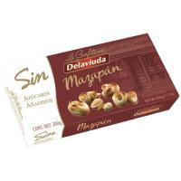 Figuritas de mazapán sin azúcar DELAVIUDA, caja 200 g