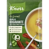 Crema de bogavante deshidratado KNORR Gourmet, sobre 61 g