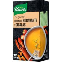 Crema de bogavante-cigala gourmet KNORR, brik 500 ml