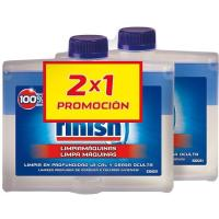 Limpia máquinas lavavajillas FINISH, pack 2x250 ml