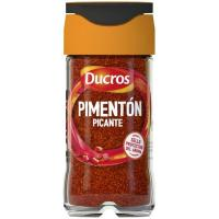 Pimentón picante DUCROS, frasco 37 g