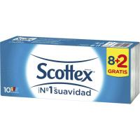 Pañuelos SCOTTEX, paquete 8+2 unid.