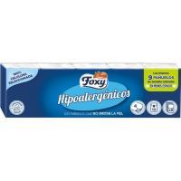 Pañuelos hipoalergénicos FOXY, paquete 10 unid.