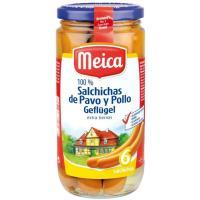 Salchichas de pavo MEICA, 6 unid., frasco 180 g